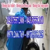 Thông tắc toilet giá rẻ nhất,thông tắc cống,bồn cầu,chậu rửa