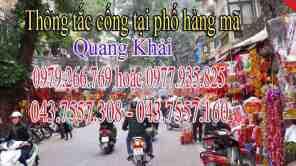 thông tắc cống tại phố hàng mã liên hệ Quang Khải 0979.266.769