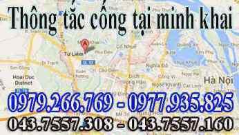 thông tắc cống,thông tắc bể phốt,thông tắc cống ngầm giá rẻ tại phường tây tựu