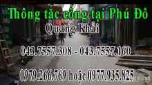 Thông tắc cống,hút bể phốt,thông tắc bồn cầu,bồn rửa,bệ xí giá rẻ tại phường phú đô