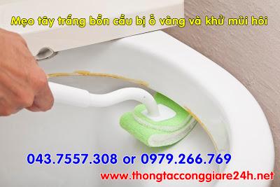Mẹo tây trắng bồn cầu bị ố vàng và khử mùi hôi hiệu quả,cách rửa bồn cầu sạch,rửa bồn cầu sạch nhanh