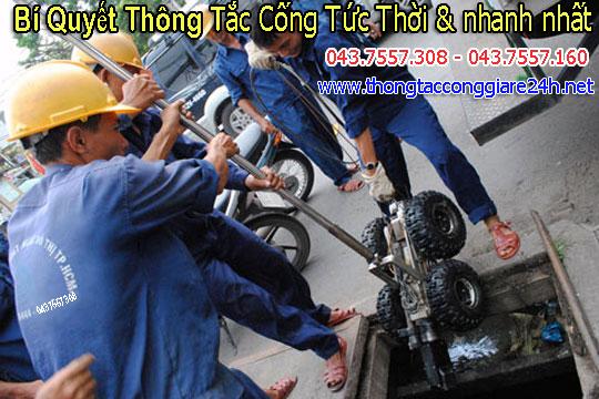 Bí Quyết Thông Tắc Cống Tức Thời Nhanh Nhất,thông cống,thongtaccong,thongcongngam 043.7557.308